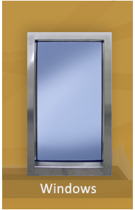 Bullet Resistant Window available in various sizes and protection