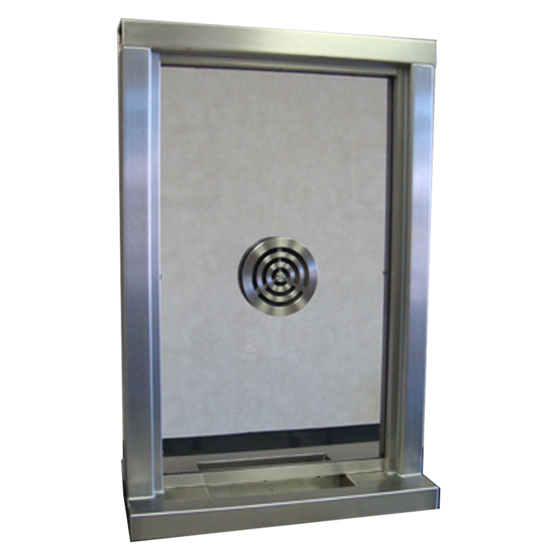 Ti 2436 Transaction Window With Aluminum Frame And Deal Tray