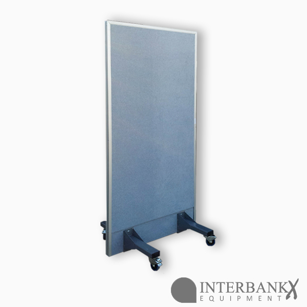 bullet resistant office partition right panel