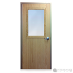 Armortex Bullet Resistant Solid Core Wood Door with Window