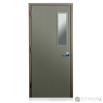 Armortex Bullet Resistant Metal Door with Window