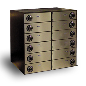 Teller Cash Storage Lockers