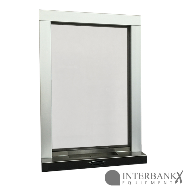 Atx T3 A Aluminum Transaction And Ticket Window With The