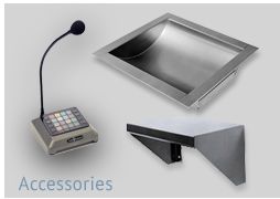 Intercom Systems, Deal Trays, Check Writing Trays for Ticket Window Transactions