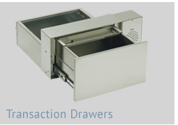 Transaction Drawers for pharmacy, bank and food services